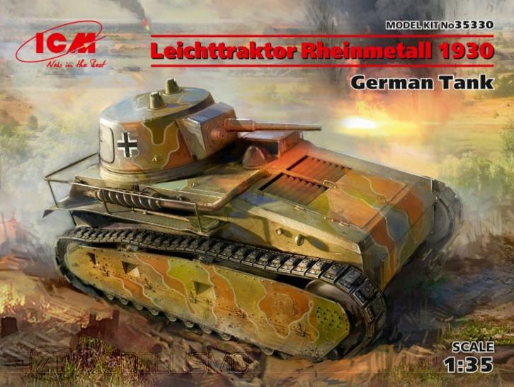 ICM 35330  - Leichttraktor Rheinmetall 1930 - 1:35