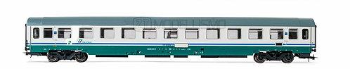 Rivarossi HR4282 - Set 2 carrozze FS 2°cl tipo UIC-Z1 livrea XMPR - H0
