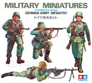 Tamiya 35002 - Fanteria tedesca - 1:35