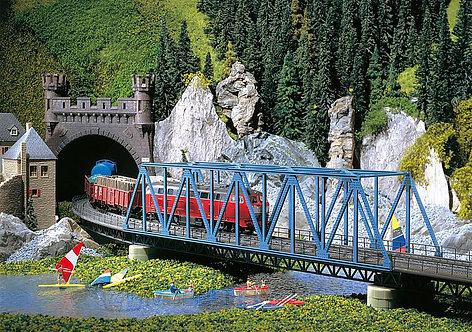 Faller 120560 - Ponte metallico a via inferiore