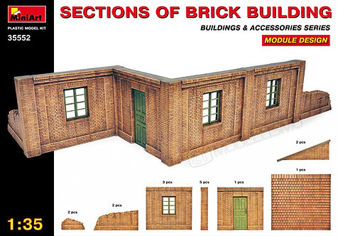 MiniArt 35552 - Section of brick building - 1:35