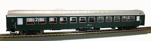 Jagerndorfer 90001 - Carrozza passeggeri di 2°cl, UIC-X, ÖBB - H0