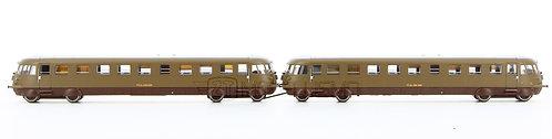 Rivarossi HR2748 - 2 Automotrici Diesel ALn 556.1206 + Ln 556.225, FS - H0