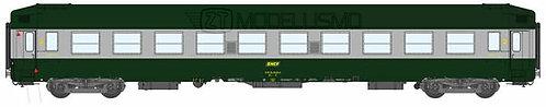REE Modeles VB-180 - Carrozza cuccette UIC B9C9x  - H0