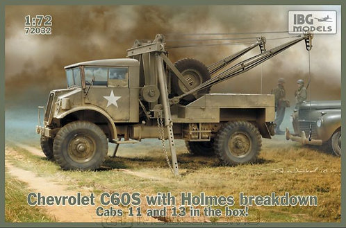 IBG Models 72032 - Chevrolet C60S with Holmes Breackdown - 1:72