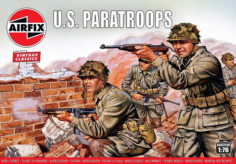 Airfix A00751 - WWII U.S. Paratroops - 1:72