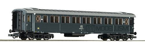 Roco 74604 - Carrozza passeggeri 2°cl,tipo 1921. FS - H0
