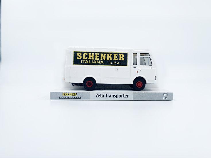 """Brekina 34543 - Fiat Zeta """"Schenker""""- H0"""