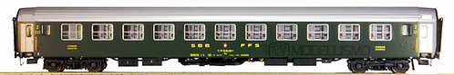 "L.S. Models 47327 - Set 2 carrozze UIC-X Bcm SBB ""Allestimento Giorno"""