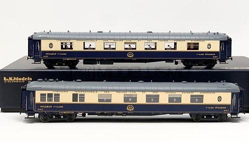 """L.S. Models 49174 - Set CIWL WP+WPc """"Cote D'Azur"""" 1949 (scala H0)"""