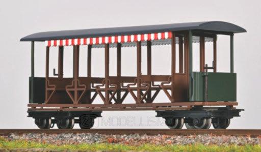 """Minitrains 5198 - Carrozza Decauville tipo """"Giardiniera"""" - H0e"""