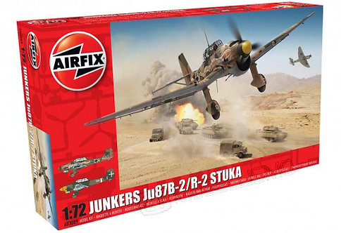 Airfix A03089 - Junkers Ju87B-2/R-2 Stuka - 1:72