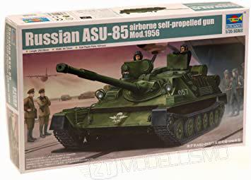 Trumpeter 01588 - Russian ASU-85 airborne self-propelled gun - 1:35
