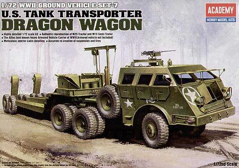 Academy 13409 - U.S. Tank Transporter. Dragon Wagon - 1:72