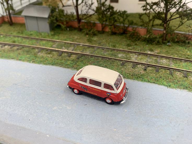 "Brekina 22468 - Fiat Multipla ""La Marmitta, ABARTH - H0"