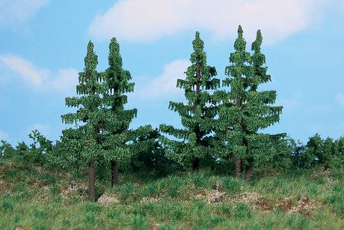 Heki 2138 - Set di 5 alberi di abete