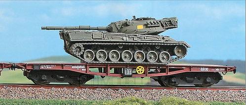 Acme 45109 - Set di due carri Rlmmp-t caricati con carri armati Leopard,FS - H0