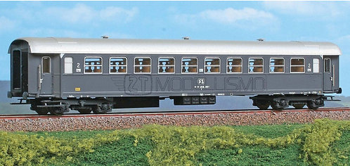 ACME 50161 - Carrozza di 2°cl, tipo 1956R, Bz 30.800 - H0