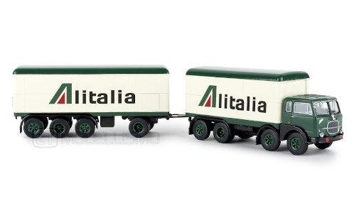 "Brekina 58432 - Fiat 690 Millepiedi, ""Alitalia"" - H0"