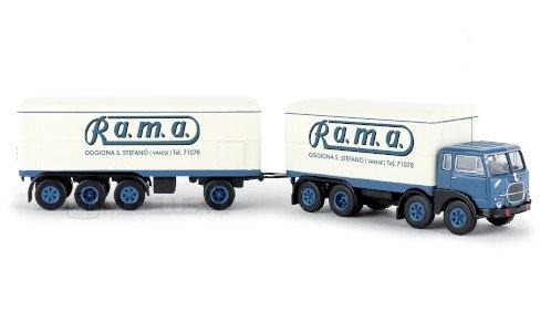 """Brekina 58426 - Fiat 690 Millepiedi """"Rama"""" - H0"""