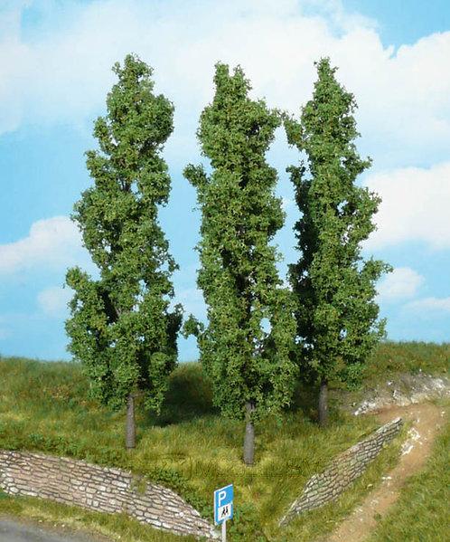 Heki 1918 - Set di 3 alberi di pioppo