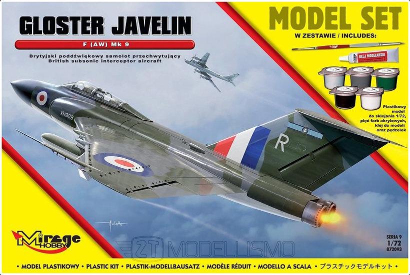 Mirage Hobby 872093 - Gloster Javelin F (AW) Mk.9 - 1:72