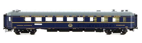"""PI99109 - Carrozza ristorante Wr4268 """"BREDA"""", CIWL 1955R """"Treno Azzurro"""" - H0"""