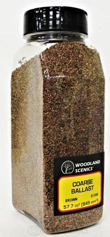Woodland scenics B1386 - Ballast, coarse brown