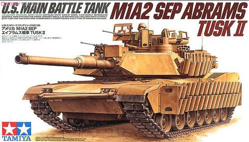 Tamiya 35326 - US M1A2 SEP ABRAMS TUSK II - 1:35