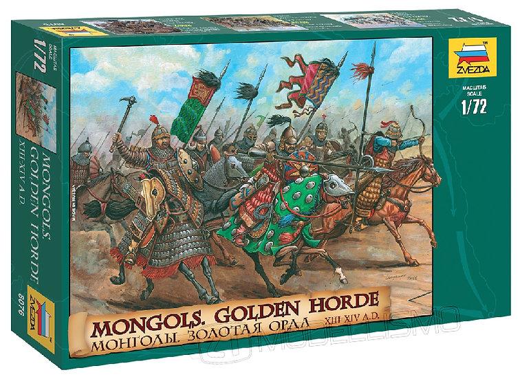 """Zvezda 8076 - Mongols """"Golden Horde"""" - 1:72"""