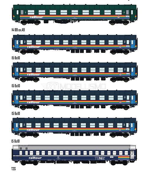 MW2003 - Set Railtour III - Freccia del sole - H0