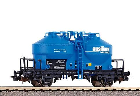 Piko 54735 - Carro silos di cemento della ditta Ausiliare di Milano, FS - H0