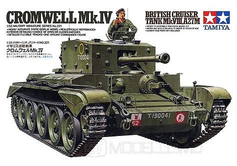 Tamiya 35221 - CROMWELL Mk.IV C.TANK - 1:35