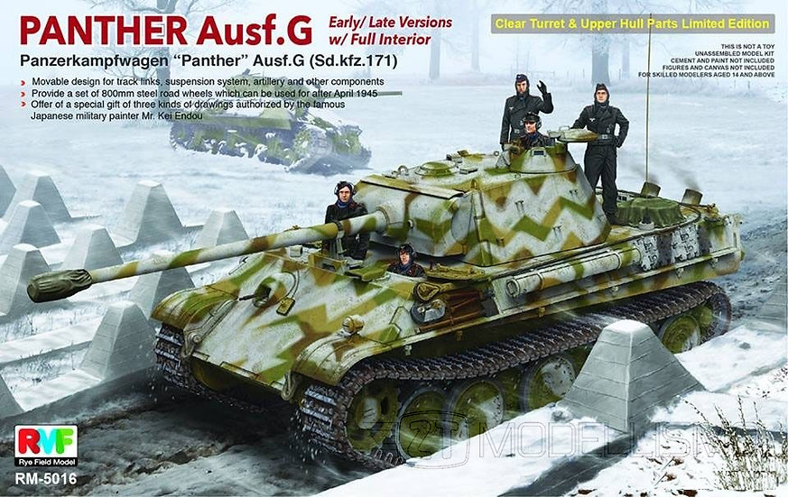 Rye Field Model 5016 - Panther Ausf.G - 1:35