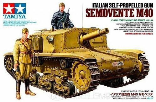 Tamiya 35294 - CARRO ITALIANO SEMOVENTE M40 - 1:35