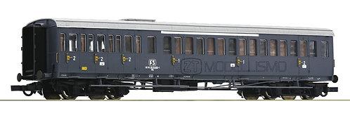 """Roco 64982 - Carrozza passeggeri di 1°cl e 2°cl, """"Centoporte"""", FS - H0"""
