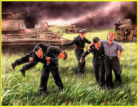 MasterBox 3536 - German tank crew, Kursk 1943 - 1:35