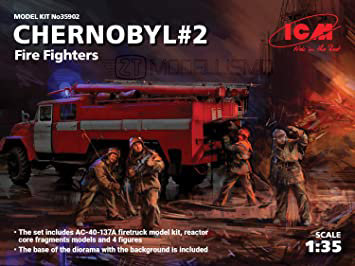 ICM 35902  - Fire Fighters. Chernobyl #2  - 1:35