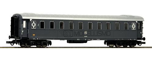 Roco 74602 - Carrozza passeggeri di 2°cl, tipo 1921, FS - H0