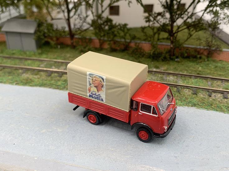 """Brekina 34603 .1 - Autocarro OM 'Lupetto' """"Mottarello"""" - H0"""