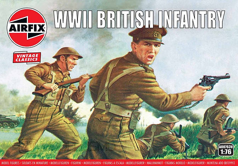 Airfix A00763 - WWII British infantry - 1:72