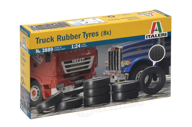 Italeri 3889 - Truck Rubber Tyres - 1:24