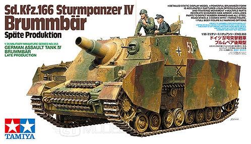 Tamiya 35353 - GERMAN BRUMMBAR, Sd.Kfz.166 - 1:35