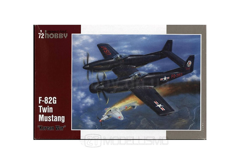 Special Hobby SH72200 - F-82G Twin Mustang - 1:72