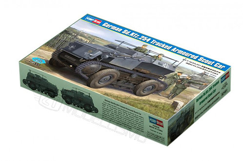 Hobby Boss 82491 - German Sd.Kfz.254 Tracked Armoured Scout Car- 1:35