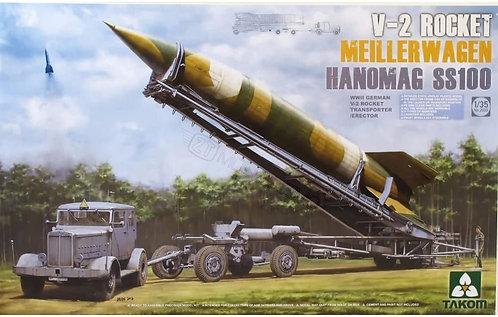 Takom 2030 - V-2 Rocket Meillerwagen Hanomag SS100 - 1:35