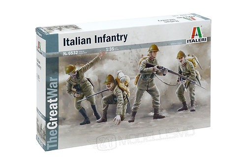 Italeri 6532 - WWI: ITALIAN INFANTRY, 1915 - 1:35