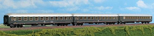 ACME 55227 - Set di tre carrozze passeggeri, tipo UIC-X 1968 - H0