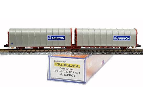 Pi.R.A.T.A. N33071 - Carro doppio telonato ARISTON, tipo Lails - N