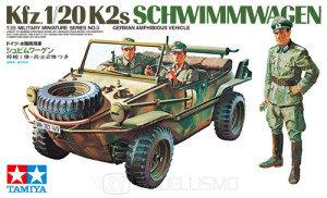 Tamiya 35003 - Kfz.1/20 K2s SCHWIMMWAGEN - 1:35